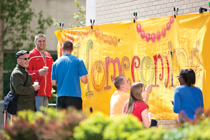 King's College will celebrate 2018 Homecoming/Reunion Weekend with numerous festivities for more than 1,000 alumni and friends on Sept. 21-23.