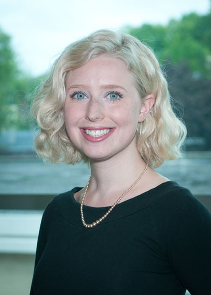 King's College student Marlee Mierzwa was  awarded a $1,200 Delta Epsilon Sigma Honor Society scholarship.