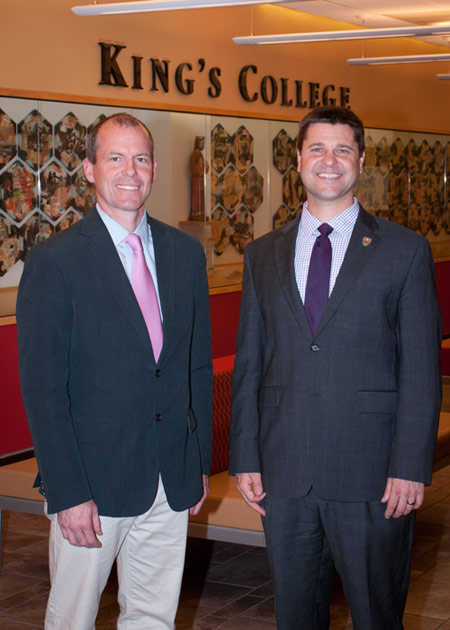 King's AT Medical Director Dr. William Charlton  and Professor Gregory Janik Earn PATS Awards